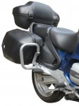 Gmole tylne do BMW R 1150 RT (00-04)  srebrne