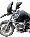 Gmole  FULL BUNKIER  do BMW R 1100 GS  (95-99) srebrne