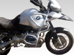 Gmole do BMW GS 1150 Adventure (01-05) - Full Bunkier srebrne