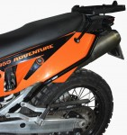 Gmole tylne do KTM 950 / 990 Adventure (02-12) - czarne