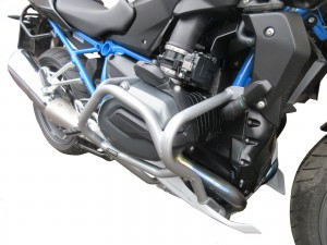 Gmole do BMW R 1200 R  / BMW R 1200 RS (2015 - 2018) srebrne