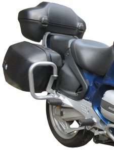 Gmole tylne do BMW R 1100 RT (95-01)  srebrne