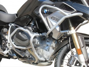 Gmole do BMW R 1250 GS - Full Bunkier srebrny