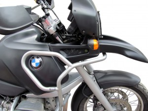 Górne gmole do BMW R 1100 GS (95-99) srebrne