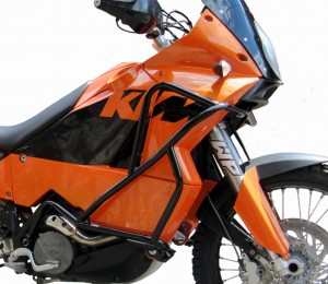 Gmole do KTM 950 Adventure (02-06) - czarne