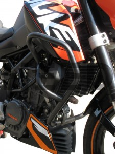 Gmole do KTM 125 DUKE (11-16) - czarne