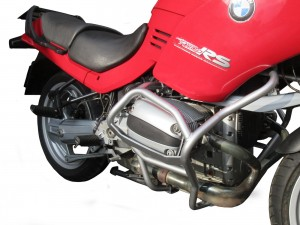 Gmole do BMW R 1100 RS (96-01) - srebrne
