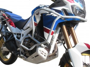 Gmole do HONDA CRF 1000 L Africa Twin DCT Adventure Sports - Bunkier srebrne